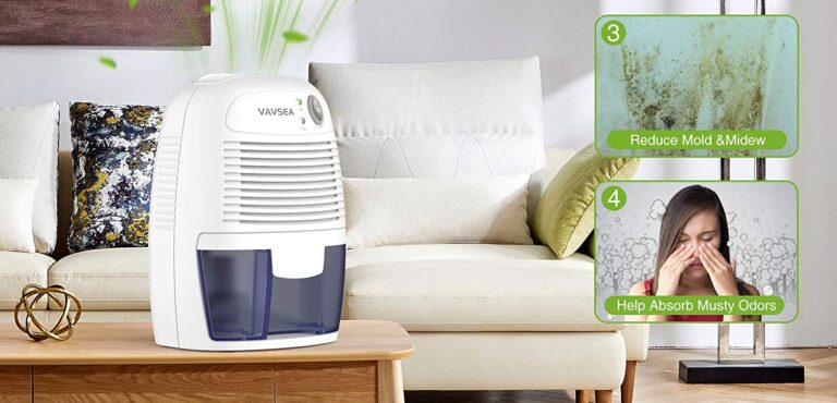 VAVSEA Dehumidifier – Use for High Humidity in Home, Office, RV